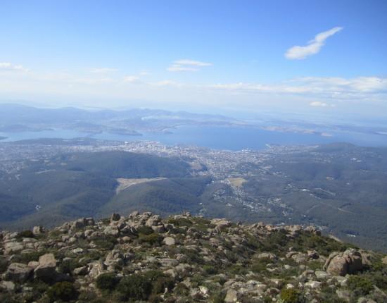 La vue du mont